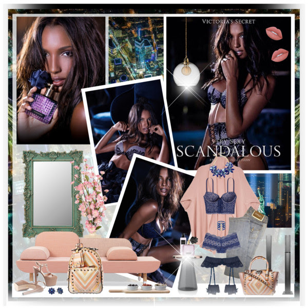 VS Scandalous Fragrance Collection Winter 2014 (Jasmine Tookes)