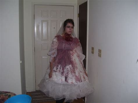 Zombie Bride Wedding Dress · A Full Costume · Decorating