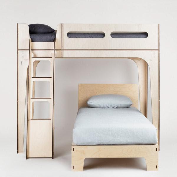 Designer Modern Kids Loft Bed - Plyroom