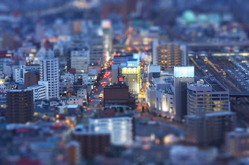 Fukushima city miniture