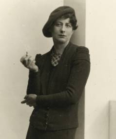 Crime writer Ngaio Marsh photographed circa 1935 by Henry Herbert Clifford.