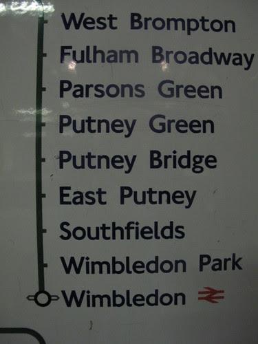 Putney Green station doesn't exist! by Helen Duffett