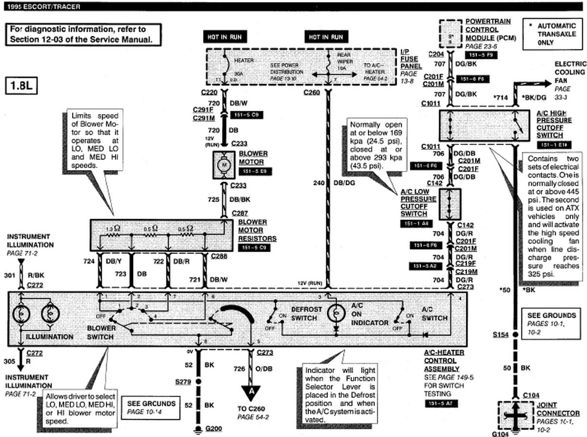 Ford Maverick Ac Wiring Diagram - Wiring Diagram