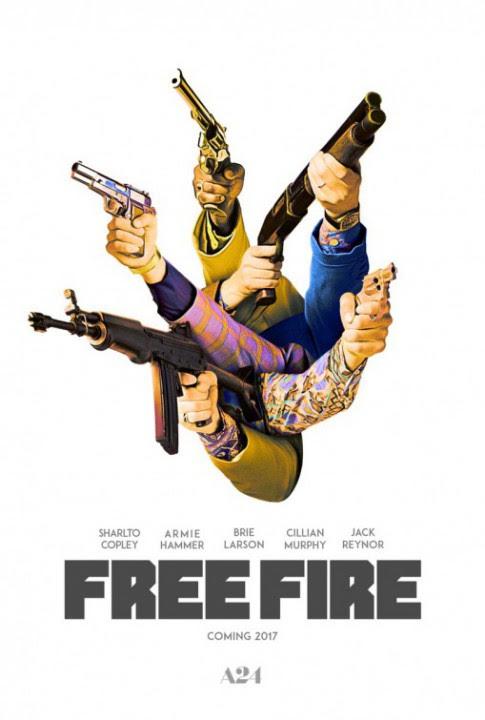 FREE FIRE: une belle série d'affiches pour le film d'action de Ben Wheatley