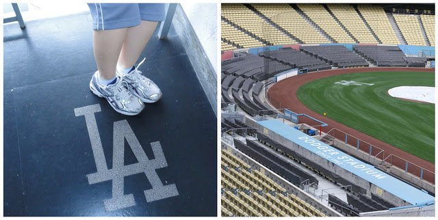LA Marathon 5K at Dodger Stadium