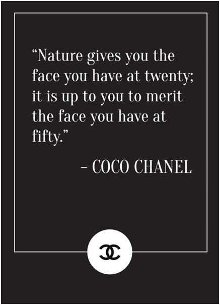 Chanel beauty quotes