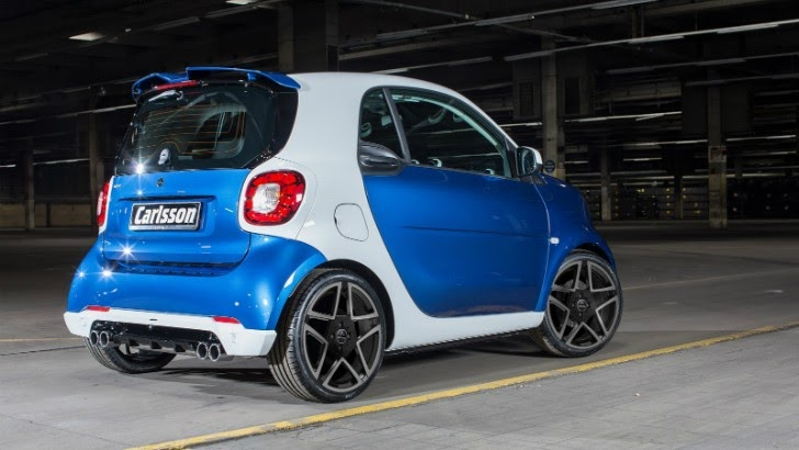 tuningcars carlsson smart fortwo ck10 tuning kit is a brabus in disguise. Black Bedroom Furniture Sets. Home Design Ideas