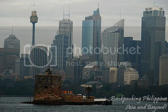 fort denison sydney skyline