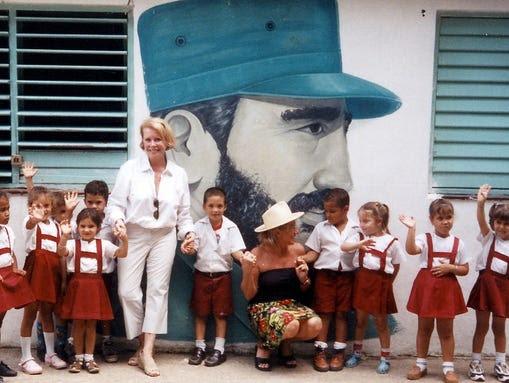 Kate Moody in Cuba