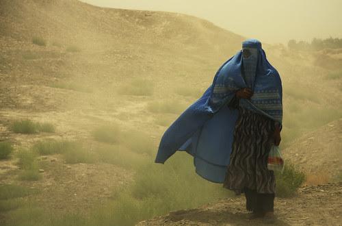 Woman with Burqa
