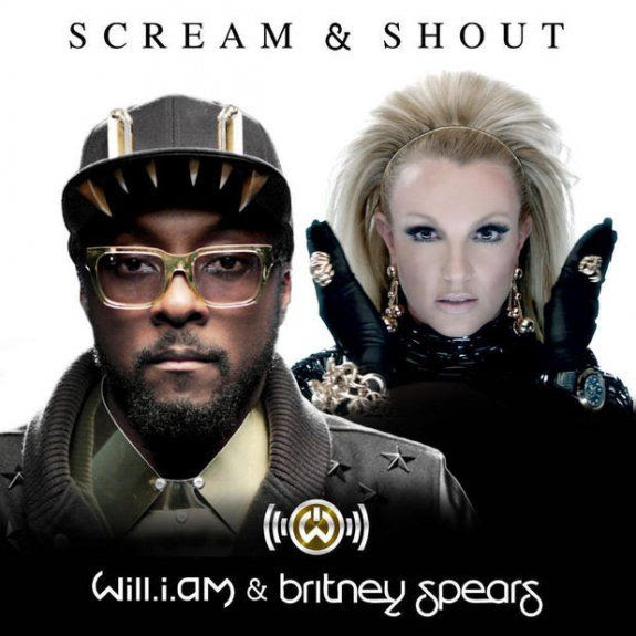 Scream & Shout (Single Cover), Britney Spears