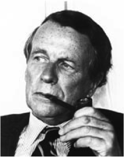 This is an image of David Ogilvy.
