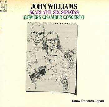 WILLIAMS, JOHN scarlatti; six sonatas