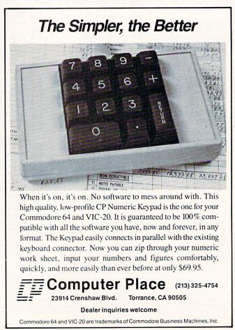Computer Place - Numeric Keypad Commodore (1)