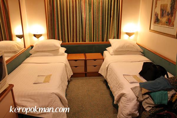 The beds split