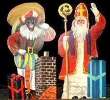 Zwarte Piet and Sinterklaas
