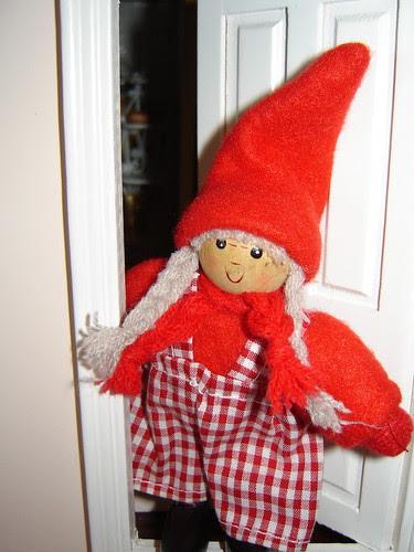 Tonttu, Santa's helper from Finland