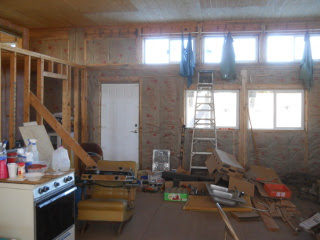 More Great Room Kitchen Wall Insulation