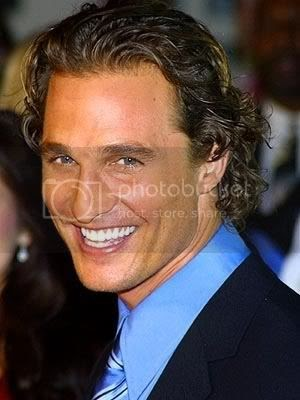 Top collection: Matthew McConaughey Curly Surfer Hair