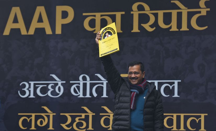 In a first of its kind initiative, the party released 'AAP's Report card' in a Town Hall — the first in the series of campaign strategies planned to showcase AAP government's achievements. Getty Images