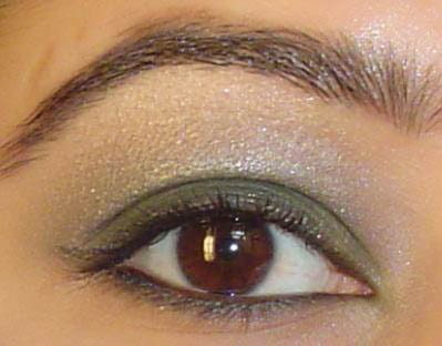 An Indian S Makeup Blog Picture Tutorial On Olive Green