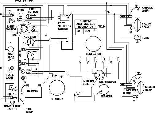 basic auto electrical wiring diagram image 3