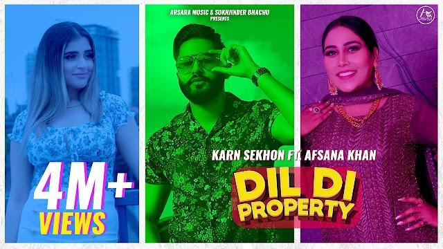 दिल दि प्रॉपर्टी Dil Di Property Lyrics in Hindi - Karn Sekhon Lyrics