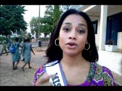 Miss Universe Ghana visit Accra Girls High School