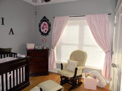 Baby Trend Stroller Baby Girlpink Gray Nursery Valspar