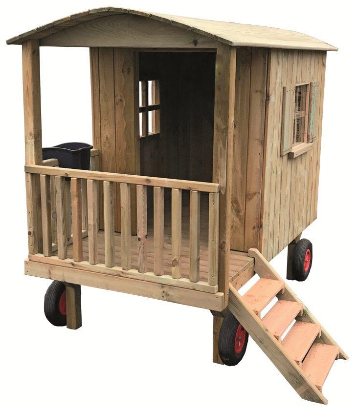 Spielhaus Holz Kinderspielhaus Rot Kaufen Holzofen Küche ...
