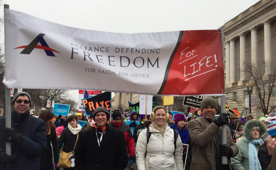 2016 March for Life (Photo: Twitter/Alliance Defending Freedom)