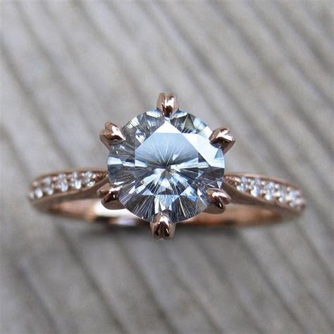 Engagement Rings & Wedding Rings : Prettiest 1ct grey