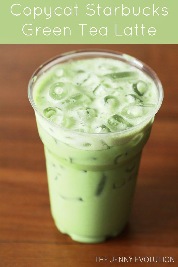 Copycat Starbucks Iced Green Tea Latte Recipe