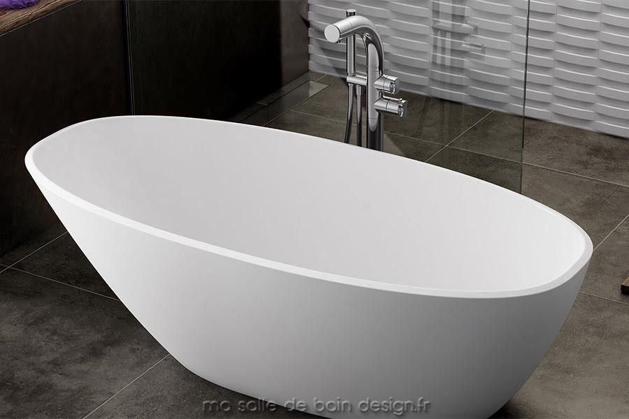 Baignoire Ilot Moderne Mozzano Par Victoria Albert Baths