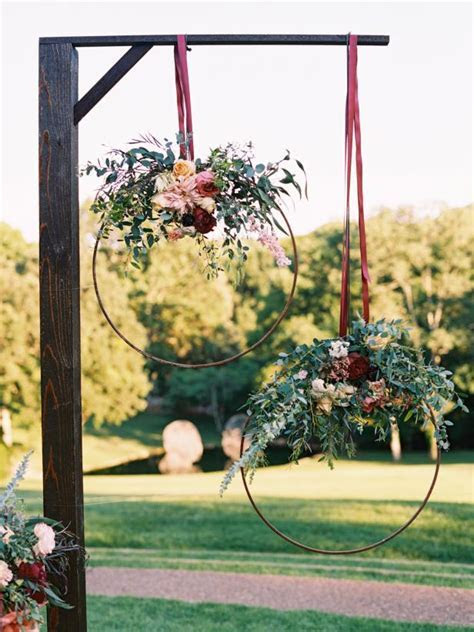 30 DIY Wedding Arbors, Altars & Aisles   DIY