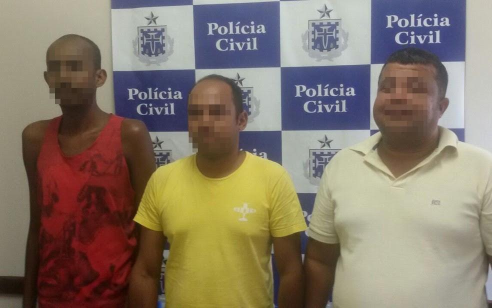 Homens foram denunciados por vítimas e presos pela Polícia Civil (Foto: Divulgação/ Polícia Civil)