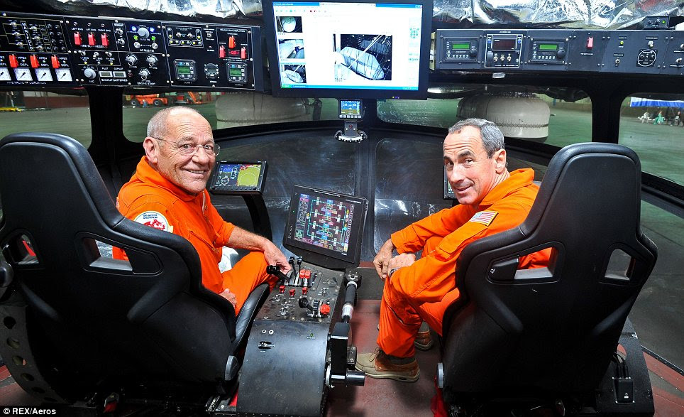Pilots: Similar to a conventional aeroplane, the Aeroscraft has a pilot and a co-pilot sitting in the cockpit