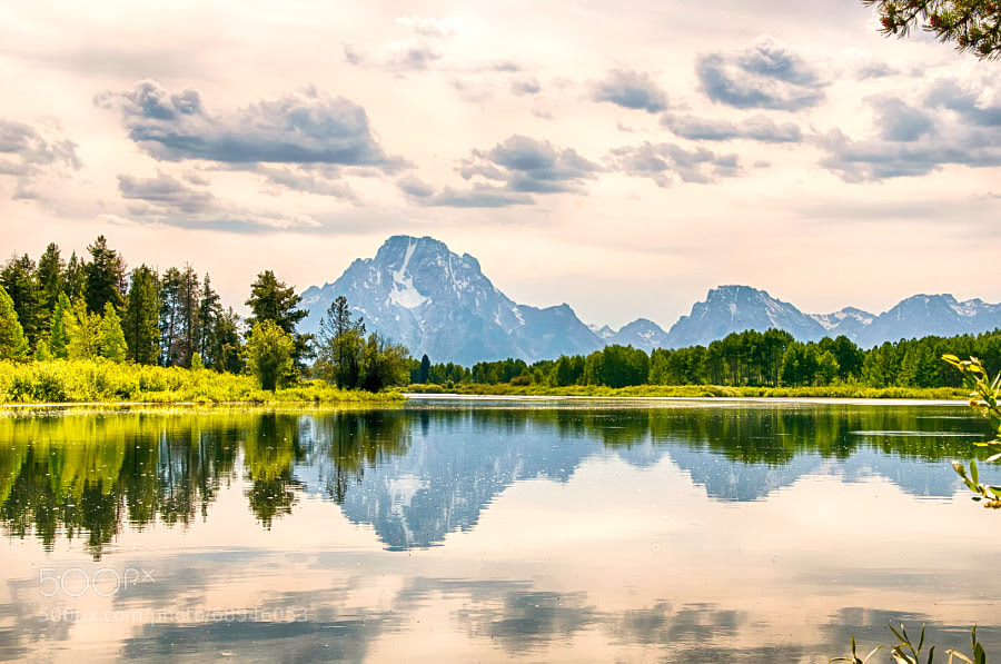 Photograph Oxbow Bend by Ronnie Wiggin on 500px