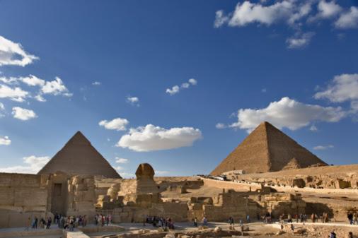 Pirâmides de Gizé e Esfinge