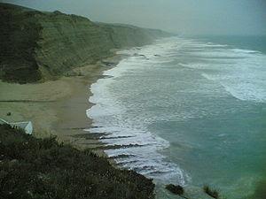 Praia do Magoito, a beach in Portugal