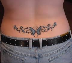 Tatuajes Femeninos En La Espalda Mujeres Femeninas