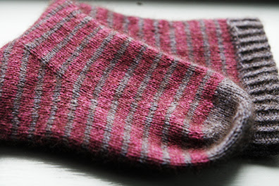 Striped Sock Folded
