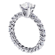 VIP Jewelry Art   2.60 CT Brilliant Cut Diamond Engagement