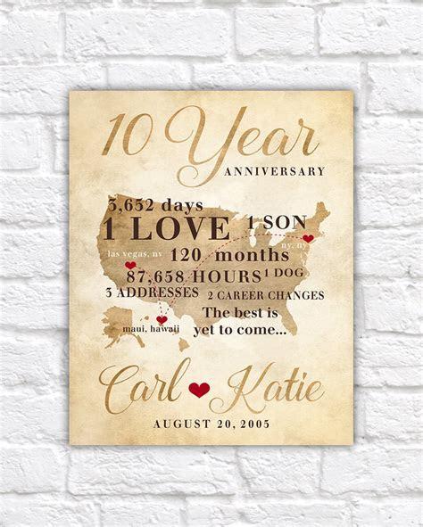 10th Wedding Anniversary Gifts For Husband   Lamoureph Blog