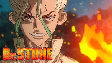 Dr Stone Anime Review ( Crunchyroll )
