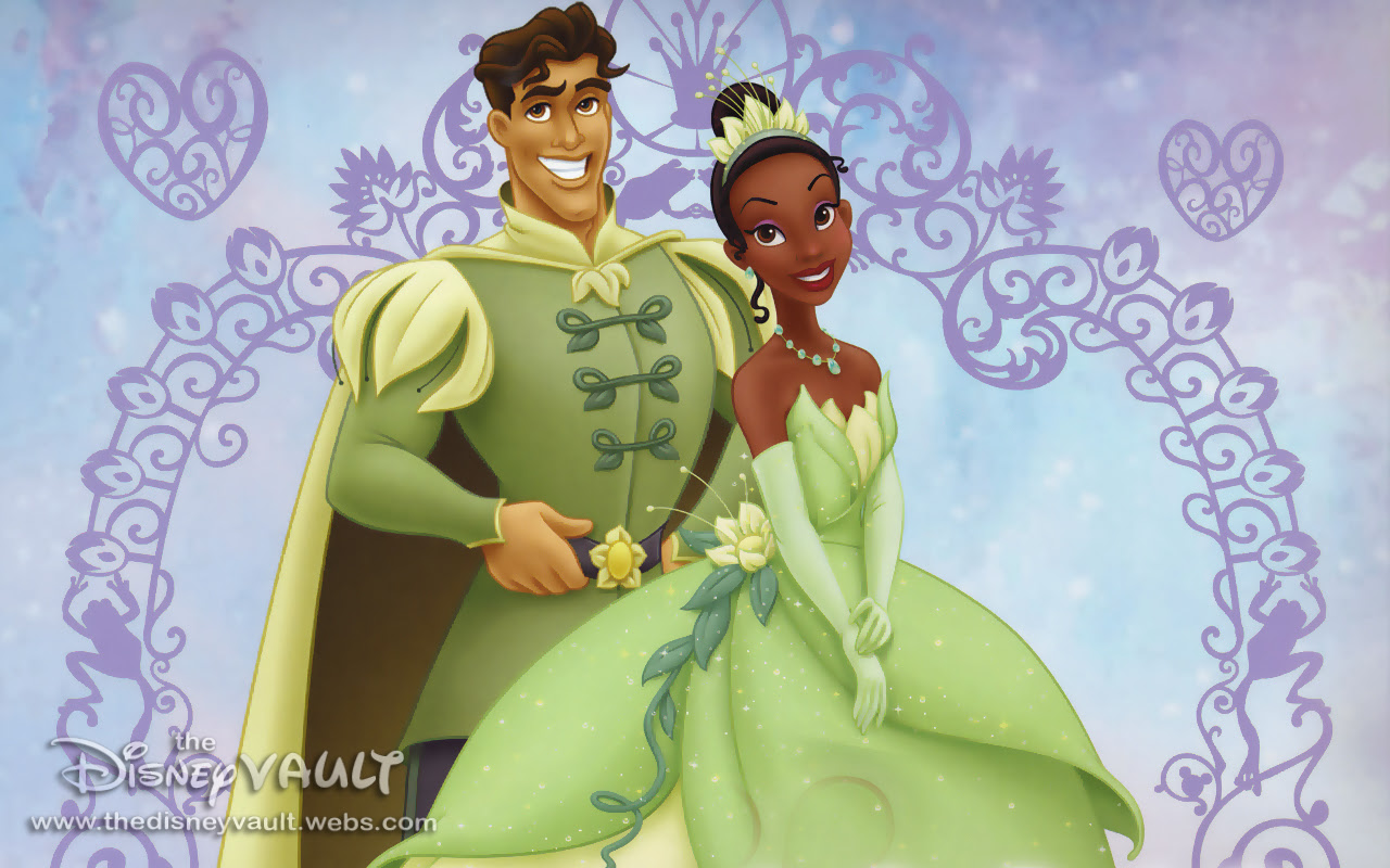 Tiana And Naveen After Wedding The Princess And The Frog