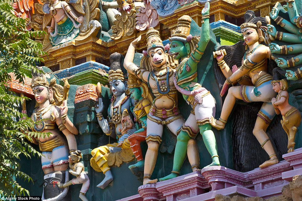 Several restoration projects have taken place in recent years with the intention of restoring the Meenakshi Temple to its original state