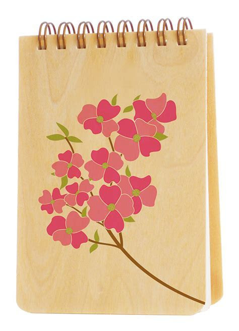 Flowering Dogwood Jotter ? Favors & Gifts ? Wedding