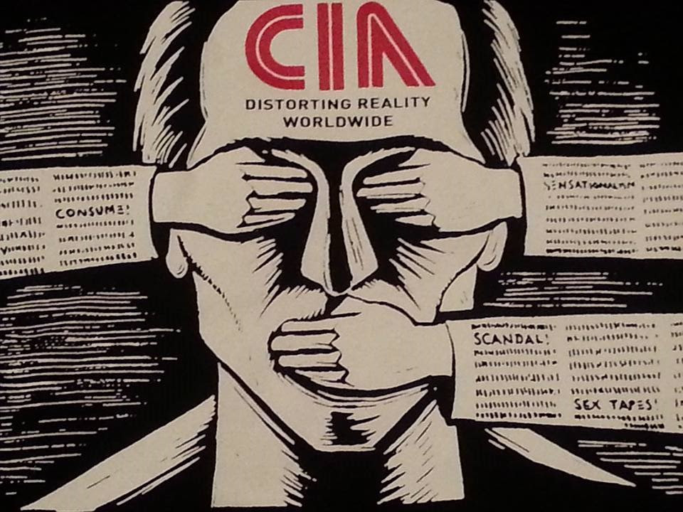 CIA media accountability education military totalitarianism fascism propaganda
