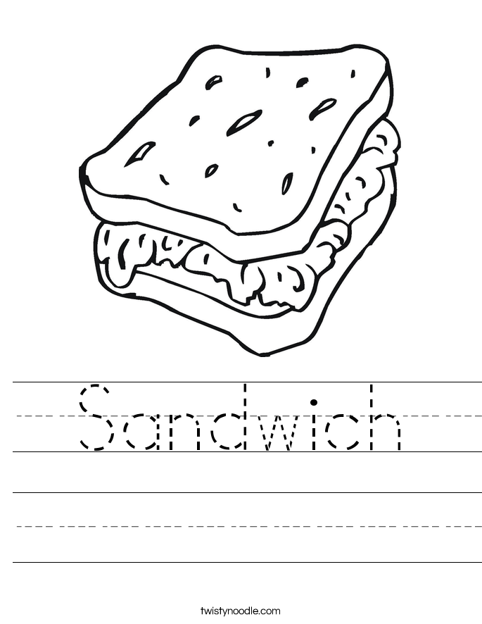sandwich_worksheet